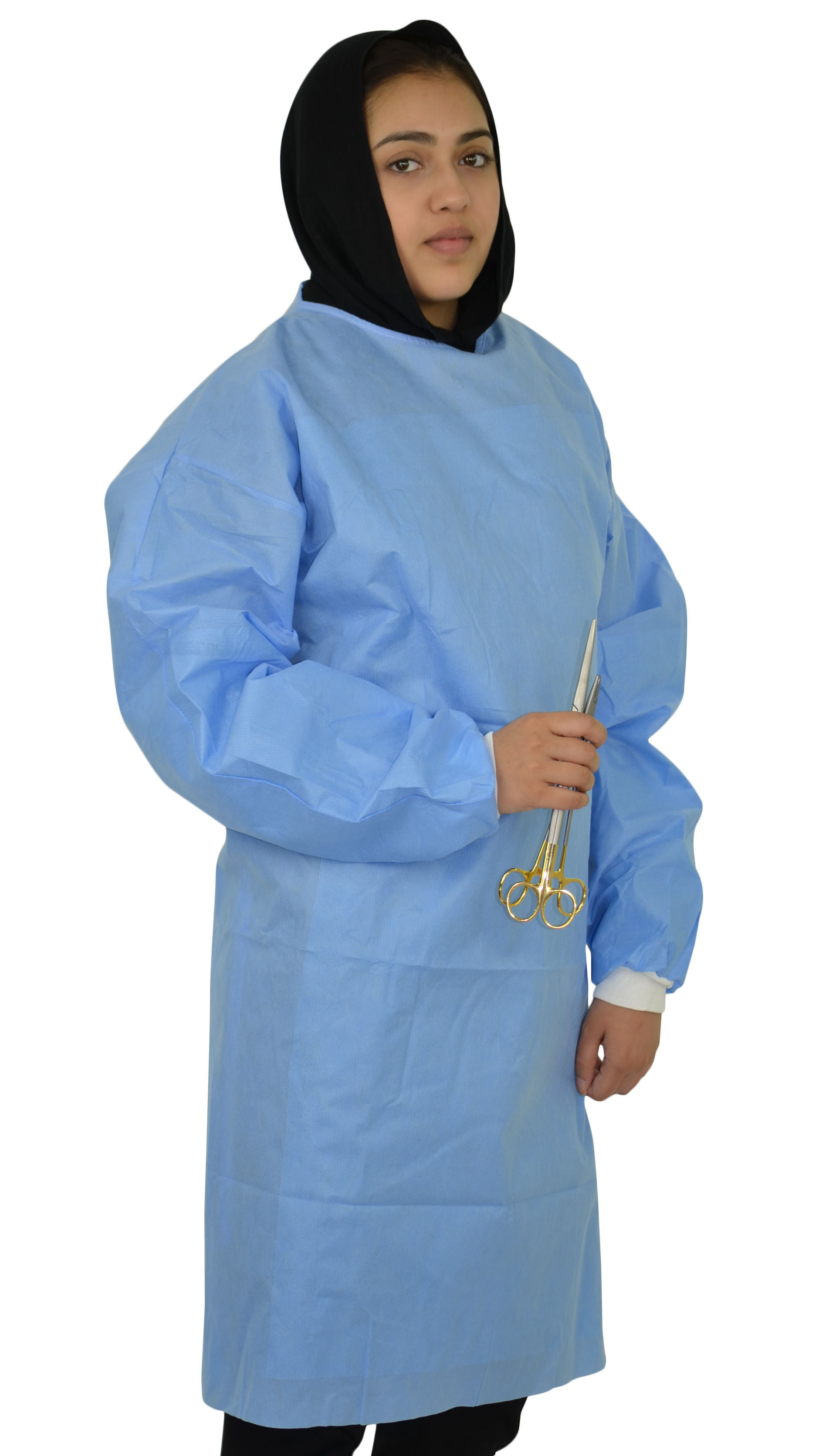 Isolation Gown with Knit Cuffs - SMS